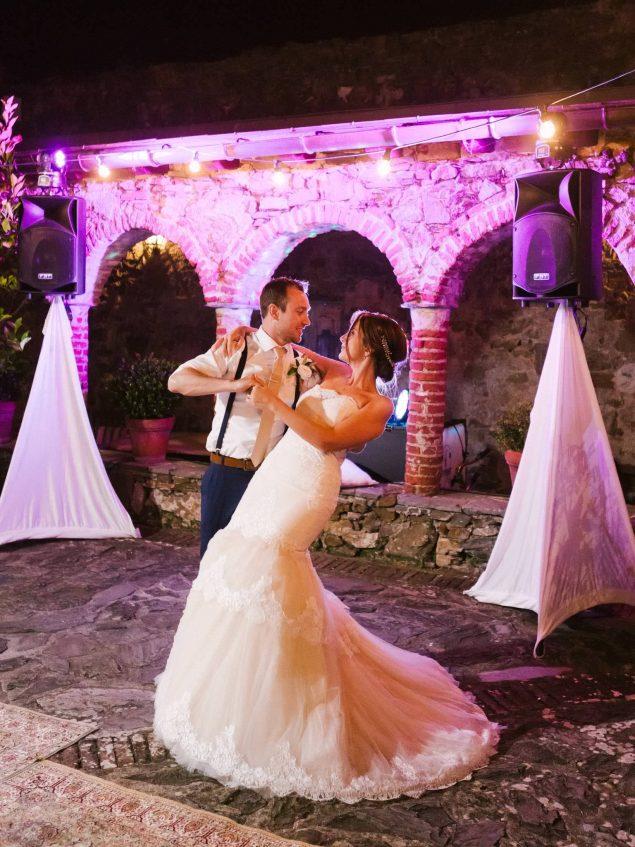 primo ballo matrimonio eremo della maddalena monterosso
