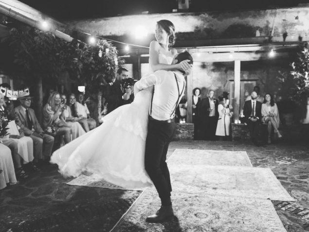 primo ballo sposi cinque terre
