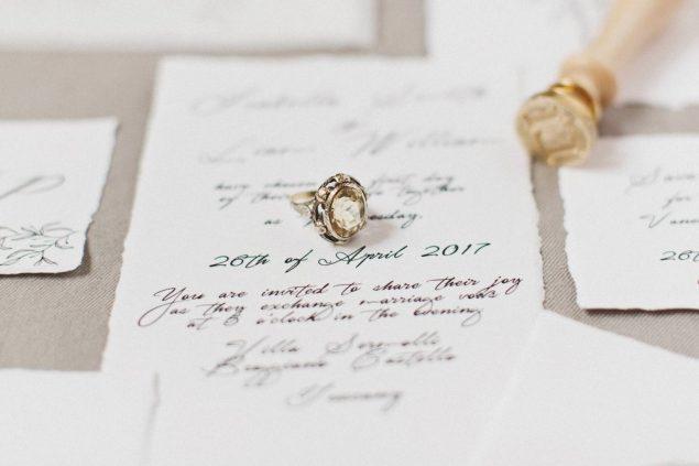 anello di fidanzamento vintage