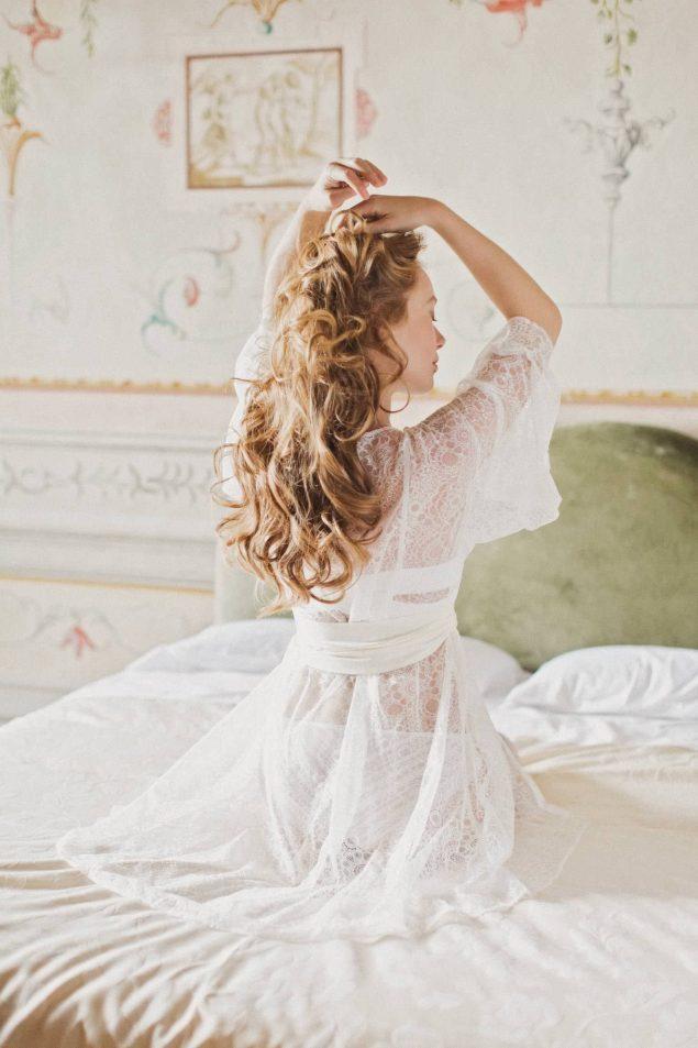 vestaglia preparazione sposa
