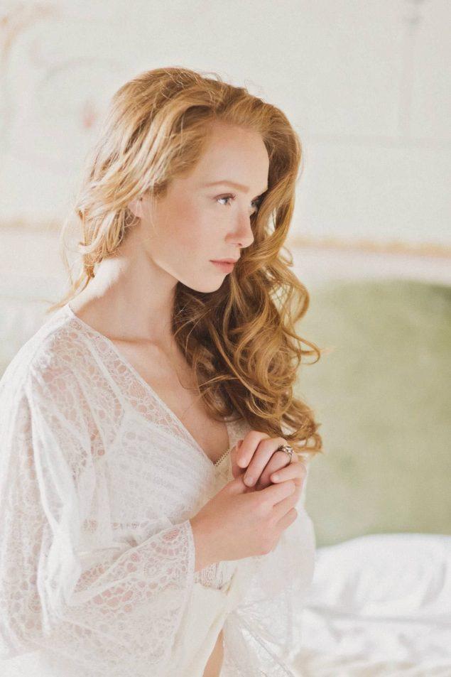 vestaglia bianca sposa
