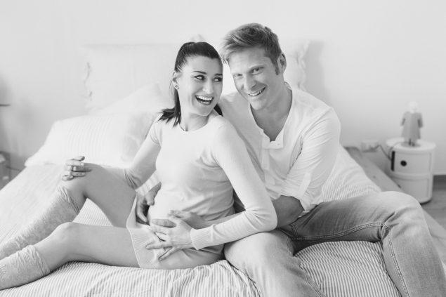 servizio fotografico gravidanza in casa