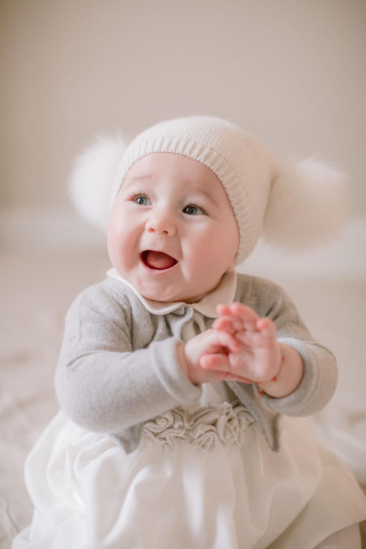 servizio fotografico neonato in casa